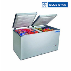 Blue Star 400 Ltrs Double Door Hard Top Deep Freezers CHF400A