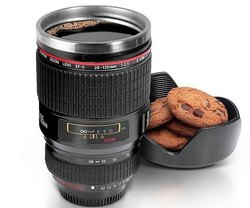 Coffee lens mug