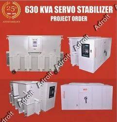 600 KVA Servo Stabilizer