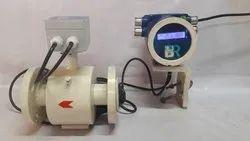 Remote Transmitter Electromagnetic Flow Meter