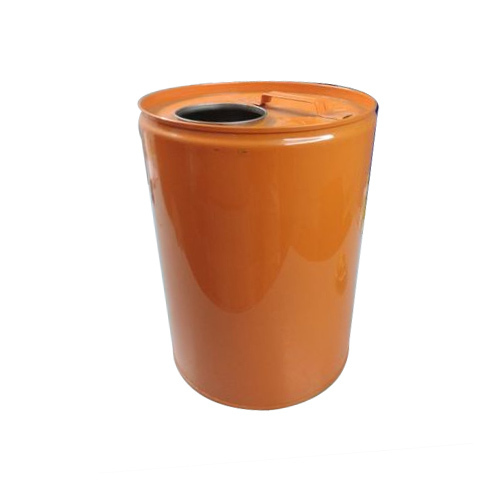 Steel Orange Paint Storage Drum Capacity 20 L