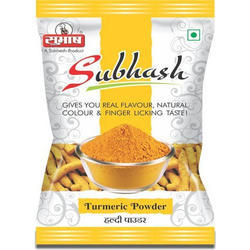 Subhash Turmeric Powder, Packaging: Packet