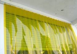 Dark Amber PVC Strips