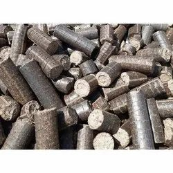 90mm Bio Coal Briquettes, For In Boiler, Cylindrical