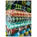 Cotton Indigo Check Fabrics