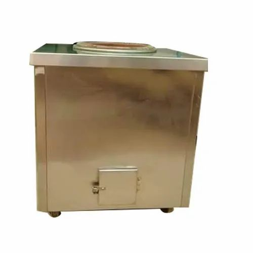 Square Stainless Steel Portable Tandoor