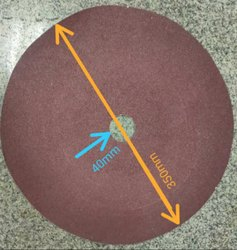 Spectro Sample Polishing Paper