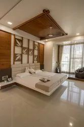 Bedroom Interior Designing Services, Work Provided: Wood Work & Furniture