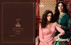 Vivek Fashion Ameen Vol-2 Wedding Wear Sharara Suit