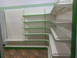 Supermarket Wall Side Corner Rack