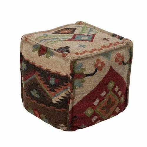Admirable Handmade Puffs And Ottoman Square Pouf Ottoman Creativecarmelina Interior Chair Design Creativecarmelinacom