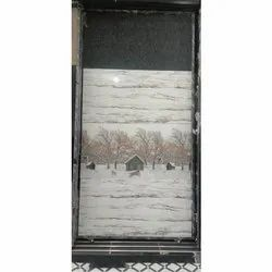 Glossy Rectangular Glacier White Ceramic Decorative Bathroom Wall Tiles, Size: 60 * 120 In Cm, Thickness: 5-10 Mm