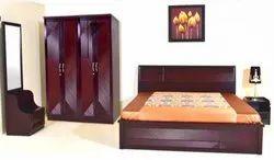 Wood Brown UW-2705 Nelson Bedroom Set, For Home