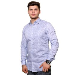 MARK JILLION Cotton Premium Fabric Mens Casual Shirt, Size: 34-42