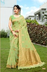 Silk Indian Saree with Blouse Piece