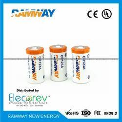 Ramway CR123A Lithium Battery, Nominal Volta