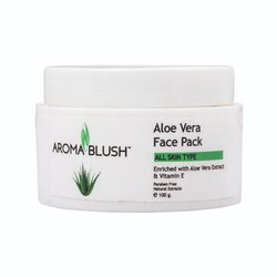 Aroma Blush Aloe Vera Face Pack, Pack Size: 500 Gm