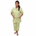 V Shaped Plain Housekeeping Uniform