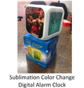 Sublimation Color Change Digital Alarm Clock