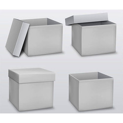 White Plain Corrugated Box
