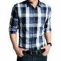 Jd Choice Checks Mens Check Formal Shirt, Size: S-xxl