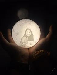 Customized Moon Lamp Without Holder (12cm)