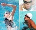Slip-Resistant and Anti-Fog Coating Goggles with Earplugs for Swimming - Swimming Goggles