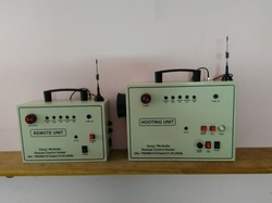 Wireless Remote Controlled Hooter / Alarm for Railway Safety Application