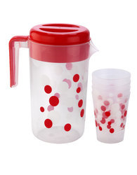 Printed Plastic Glass with Jugs