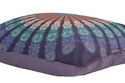 Peacock Badmeri Cushion Cover