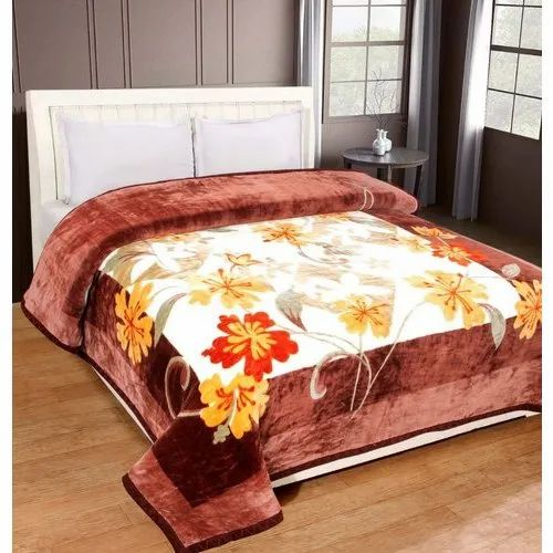Double Bed Printed Blanket