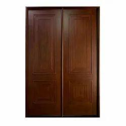 Wood Interior Wooden Bedroom Flush Door, For Home