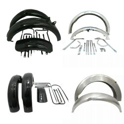 BSA Motorcycle Fender Set Assembly British Bike Replacement Spare Parts