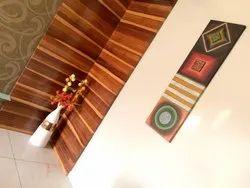 Modern Flo Art Wall Canvas, Size: 14x36 Inch