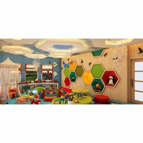 Play School Classroom Interior Designing Service In Varanasi Cantt