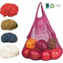 Multi Organic Cotton Color String Bag