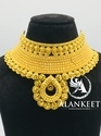 Latest Gold Plated Chokar Jewellery