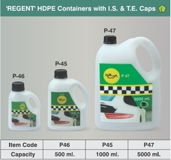 Lube Oil PE Containers (T), Capacity: 1-10 ton