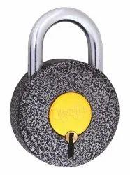 Black Crackle Pad Lock - MPD15