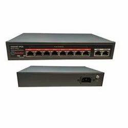 Trueview Black 52 V POE Switch 8 2 Port, Model Name/Number: T17544