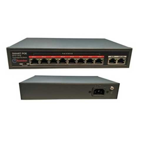 52 V POE Switch 8 2 Port
