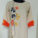 Applique Embroidered Kurti