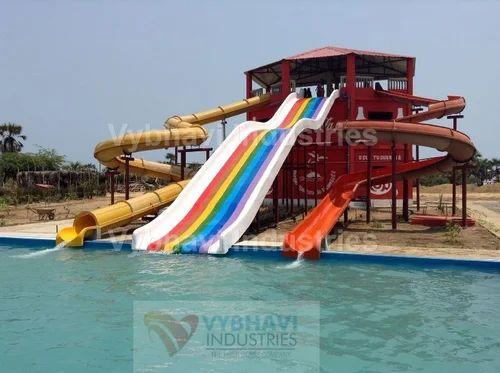 Swimming Pool Frp Slides Rs 2895000 Set Vybhavi Industries Id 19862565091