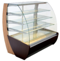 Wooden Glass Sweet Display Counter