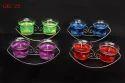 Shree Multi Color Designer Gel Candle