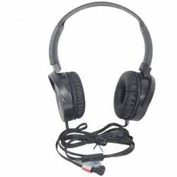 Syska Black HS3100 Wired Headset with Mic