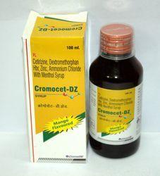 Cetirizine, Dextromethorphan hbr, Zinc Ammonium Chloride With Mnthol Syrup