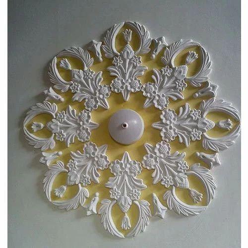Flower Design Pop Ceiling At Rs 50 Square Feet प ओप स ल ग प ओप क स ल ग Pop Ceiling Prime Interior Lucknow Id 16832728948