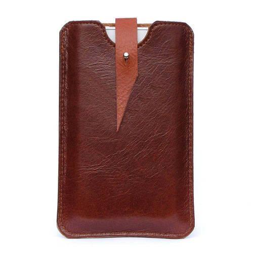 hot sale online 5cd2d bdc63 Designer Leather Phone Pouch