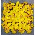 Yellow Plastic Artificial Oneb-zo-uv-009 Vertical Uv Wall Covering Mat For Decoration